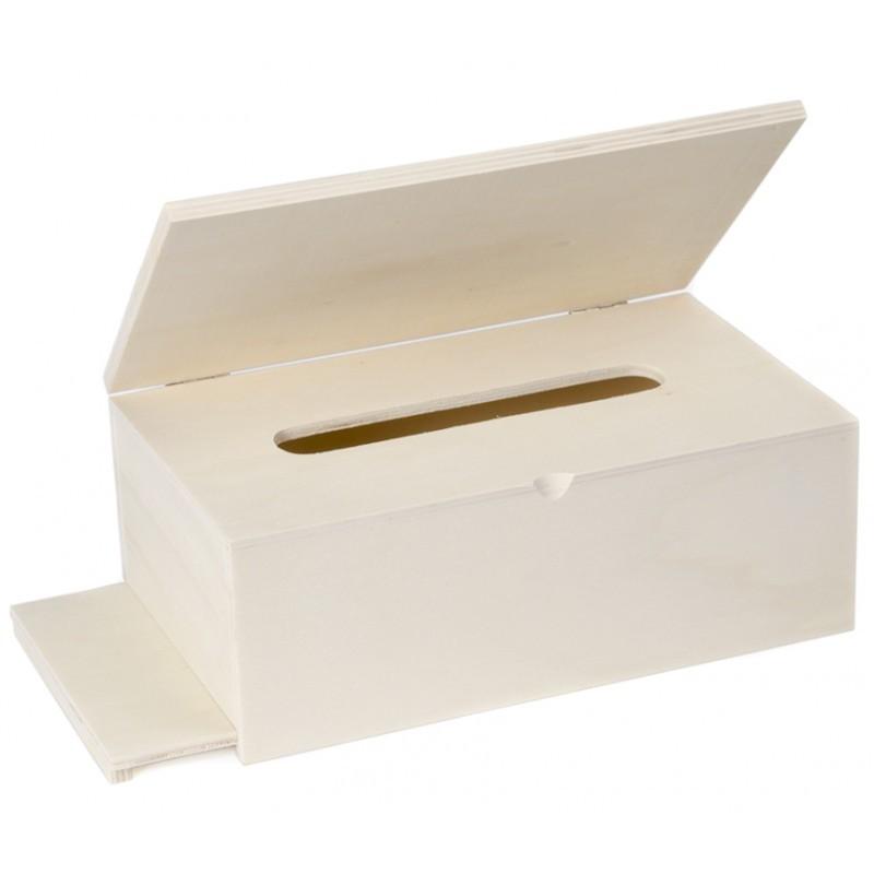 Caja Pañuelos con Tapa