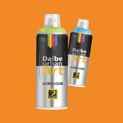 URBAN ART 400ML NARANJA PASTEL